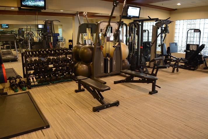 Mountain Chalet Aspen Fitness Gym Machines